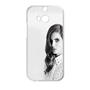 HTC One M8 Cell Phone Case White Lana DelRey Black And White Dylmd