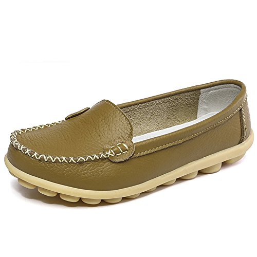 Women%27s+Leather+Casual+Loafer+Shoes+Comfort+Slip+On+Soft+Driving+Walks+Shoes