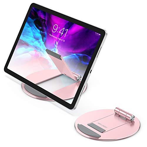 soporte stand multi angulo para tablets ipad omoton rosa