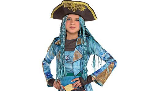 Gold Element Halloween Costume (Uma Hat with Braids Descendants Halloween Costume Accessories for Kids, One Size, by)