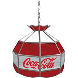 Coca-Cola Tiffany Gameroom Lamp, 16""