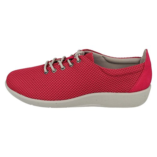 Steppers 4 37 Size Size UK Up Lace Shoes Ladies Fuchsia Clarks Cloud 5E Size EU 5 Sillian US Tino 7 wxPq1WEUZ