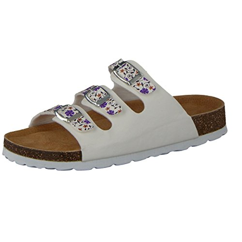 Camprella white Clogs White White Women's w7zqY