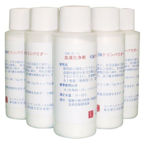 開店記念セール! KOMクリーンパウダー(血液洗浄剤)KOM321-6(110G)6KOM(04-2640-00)   B01KDPO0MA, パワーストーン通販ココロパルレ:b455f4d2 --- 4x4.lt