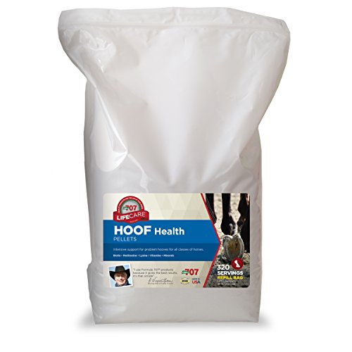 Formula 707 Hoof Health Equine Supplement, 20lb Refill Bag - Biotin, Amino acids, and Minerals to Improve and Support Healthy Horse Hooves