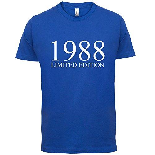 1988 Limierte Auflage / Limited Edition - 29. Geburtstag - Herren T-Shirt - Royalblau - XXL
