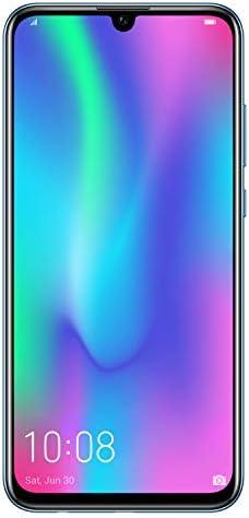 HONOR 10 Lite Smartphone, 3 GB RAM, Memoria Espandibile da 64 GB, Display 6.21″ FHD, Doppia Fotocamera Posteriore da 13+2 MP, Fotocamera Anteriore 24 MP, Sky Blu [Italia]