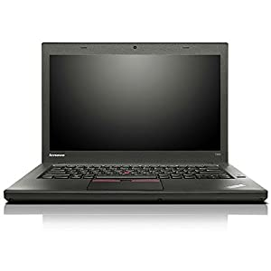 Lenovo ThinkPad T450 20BV0003US 14-Inch Laptop (Intel Core i7-5600U, 8 GB DDR3L SDRAM, 16 GB SSD, Windows 8.1 DG Windows 7 Pro 64, Black)