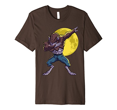 Werewolf Dabbing Halloween T-Shirt