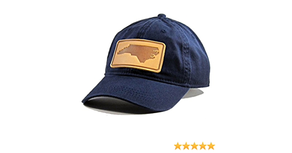 Homeland Tees Mens California Leather Patch Cotton Twill Hat