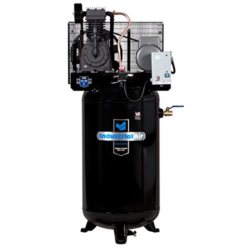 Industrial Air IV5018055 80-Gallon 2 Stage Cast Iron Industrial Air Compressor (Air Compressor Stage Two Accessories)