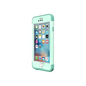 Lifeproof Nüüd Series Waterproof Case for iPhone 6s Plus - Retail Packaging - Undertow (Aqua Sail Blue/Clear/Tail Side Teal)