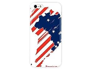 Heat Sublimation iPhone 5S Case AmericonOutlavs Usa Vs Azerbaijan AmericonOutlavs Syracuse Chapter for iPhone 5 Case