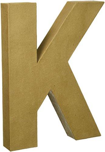 Darice 2861K Paper Mache Letter 12Inx15In