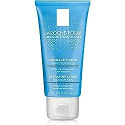 La Roche-Posay Ultra-Fine Scrub Exfoliating Facial Cleanser, Suitable for Sensitive Skin, 1.69 Fl. Oz.