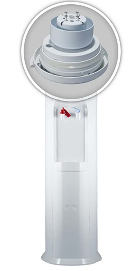 Dispensador Agua, Fuente de Agua Fria, Fuente de botellon,Maquina de Agua Fria y Caliente, Fuente Botella, Blanca,casa,hogar,Oficina: Amazon.es: Hogar