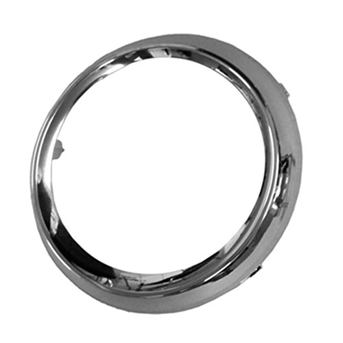 (JRB FITS 2011-2017 TOYOTA SIENNA (SE MODEL) PASSENGER SIDE FOG LIGHT TRIM RING; ROUND WITH CHROME FINISH TO1039150)