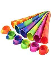 6 stuks siliconen ijsvormen ijslolly vormen Popsicle mal voor kinderen gratis invriezen & gemakkelijk opruimen - Food Grade BPA Free