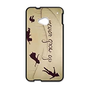 Peter Pan HTC One M7 Cell Phone Case Black SH6069335