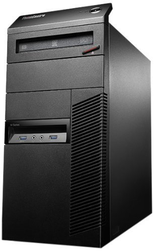 2018 Lenovo ThinkCentre M93p Business Desktop Computer, Intel Quad-Core i7-4770 up to 3.90GHz, 8GB RAM, 1TB HDD, NVIDIA GeForce GT 620, Windows 10 Professional (Certified Refurbished) by Lenovo