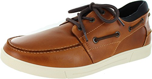 Hotter Men's Launch Leather Deck Shoes NpMqFXCMOC