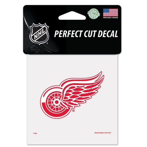 Detroit Red Wings Perfect Cut Color Decal 4x4 ()