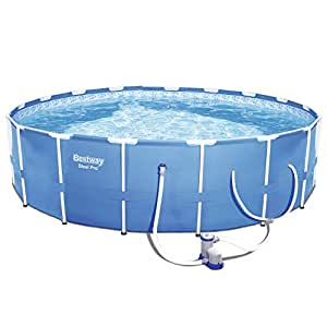 "Steel Pro 12' x 30"" Frame Pool Set"
