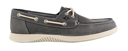 Sperry Mens, Defender 2 Eye Boat Shoe Grey
