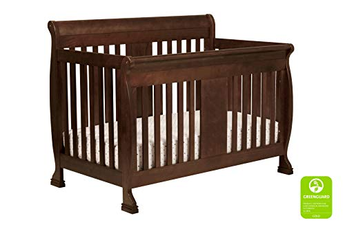 DaVinci Porter 4-in-1 Convertible Crib with Toddler Bed Conversion Kit in Espresso | Greenguard Gold Certified
