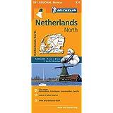 Netherlands North - Michelin Regional Map 531: Map (Michelin Regional Maps)