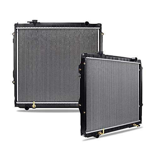 Mishimoto R1755-AT Toyota Tacoma Replacement Radiator, 1995-2004, Silver