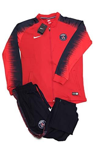 3bc7f3b25 2018/2019 France Paris S-G Sports Fan Soccer PSG Football Club Youth Red  Zip Kids Jacket