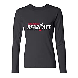 Amazoncom Juxing Womens University Of Cincinnati The Bearcat Logo