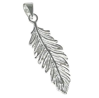 AFP Anhänger Feder 925 Sterling Silber AS-239: Amazon.de: Schmuck