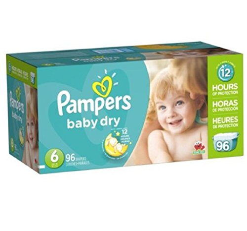 Pampers Soft inside and out Baby Dry Diapers Giant Pack 3 la
