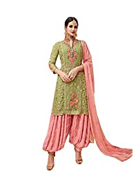 STELLACOUTURE Indian/Pakistani Ethnic wear Heavy Georgette Patiala Salwar Kameez 3503