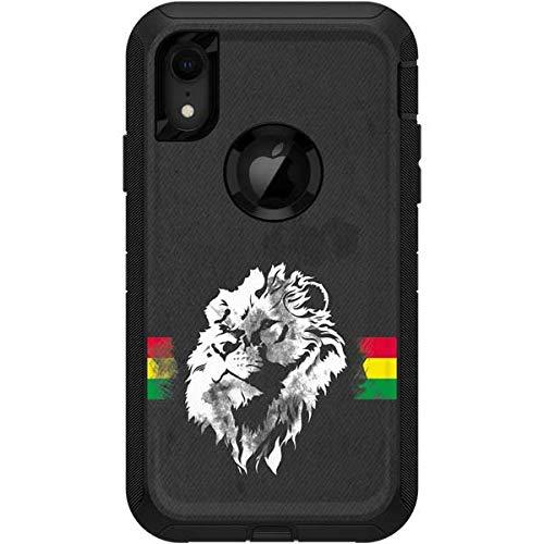 (Skinit Horizontal Banner - Lion of Judah OtterBox Defender iPhone XR Skin - Rasta OtterBox Case Decal - Ultra Thin, Lightweight Vinyl Decal Protection )