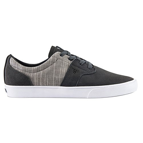 Fallen Men's Chief XI Skateboard Shoe, Ash Grey/Cement Grey, 11 M US