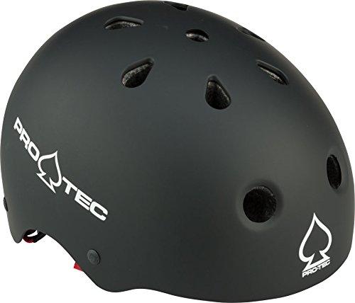 (Pro-Tec Junior Classic Certified Multi-Sport Helmet with Fit System, Matte Black, XXXS)