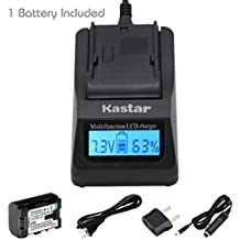 [Fully Decoded] Kastar Ultra Fast Charger and BN-VG114 Battery (1-Pack) for JVC BN-VG107 BN-VG107U BN-VG107US BN-VG114 BN-VG114U BN-VG114US BN-VG121 BN-VG121U BN-VG121US Battery and JVC Everio Cameras