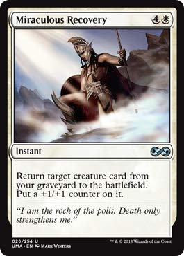 (Magic: The Gathering - Miraculous Recovery - Ultimate Masters - Uncommon)
