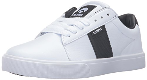 Osiris Mens Rebound Vlc Skateboarding Shoe White/Black
