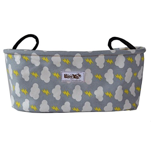 Leeya Kids Baby Child Holder Stroller Organizer Bag, Cloud by LEEYA