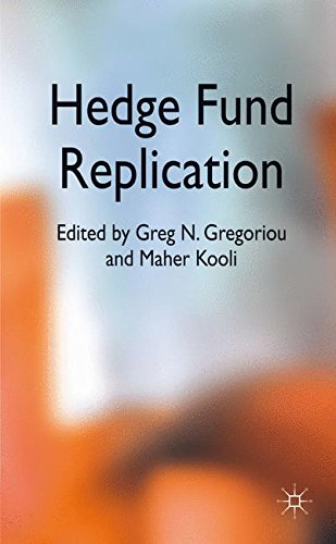 Hedge Fund Replication by Palgrave Macmillan