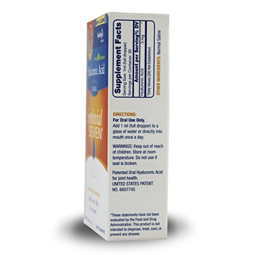 Hyalogic Synthovial Seven Hyaluronic Acid Liquid - HA Joint Support - Vegan - 1 oz by Hyalogic (Image #3)
