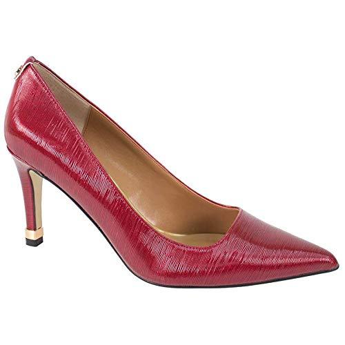 (J.Renee Women's Sascha Dress Pump, Red, 11 M)