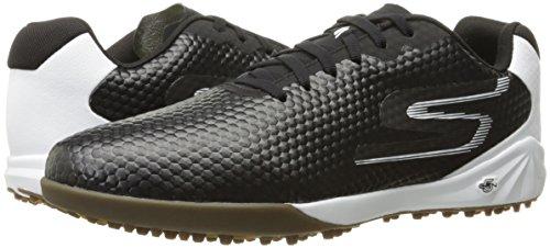 Übergrößen Schuhe GO Fußballschuhe Soccer Schwarz Skechers Herren HEXGO in Weiß WzCppvg