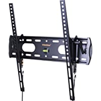 VideoSecu TV Wall Mount Tilt Low Profile Ultra Slim Television Mount Bracket for Most 26- 47 LED LCD Plasma TV, Some up to 55 TV with VESA 200x100 to 400x400 1FE