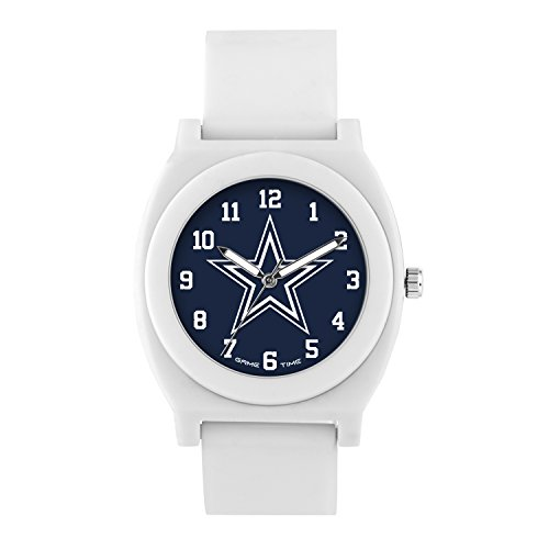 (NFL Dallas Cowboys Mens Fan Series Wrist Watch, White, One Size)