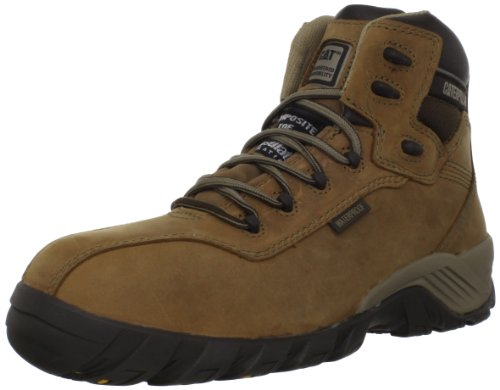 Boot Dark Women's Caterpillar Work CT Waterproof Beige Nitrogen qw7Xx16Z